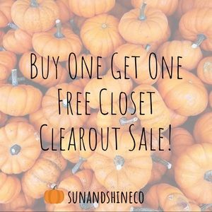 Buy One Get One Free Sale 🍂☕️